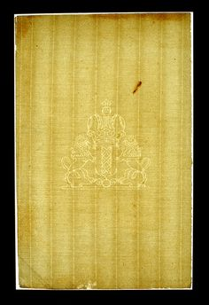 Paper Conservation  Transmitted light reveals watermarks, which can help in dating artworks.