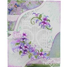 Lilacs for My Friend - #HeartfeltCreations #friendship #papercrafts #cardmaking #craft #justbecause #anyoccasion