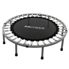 Folding Trampoline Aerobic Home Workout Fitness Rebounder with Safety Pad HFON Muscle Building Workouts, Fitness Motivation Pictures, Workout Pictures, Rebounding, Aerobics, Workout Fitness, At Home Workouts, Cardio