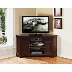 Mulberry Corner Audio Tv Stand