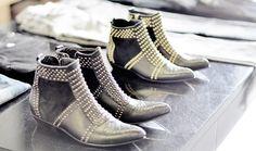 chloe-esque ankle bootie beauties