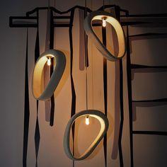 Aretha-C - Concrete pendant lamp - Urbi et Orbi