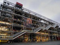 Clássicos da Arquitetura: Centro Georges Pompidou / Renzo Piano + Richard Rogers (17)