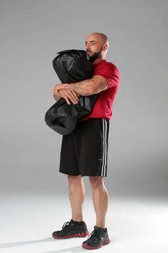The Sandbag #Workout #fitness #exercise  http://www.ironcoreathletics.com/