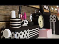 (89) Újrahasznosított ceruzatartó | INSPIRÁCIÓK 1 PERCBEN - YouTube