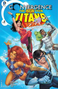 Weird Science: Convergence: The New Teen Titans #1 Review and *SP...