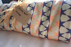 Organic Baby Blanket Geometric Star Matrix in by RWScissors2010, £28.00