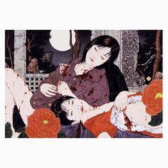 Takato Yamamoto - Japanese Illustration - Heisei Estheticism - Altar of Narcissus