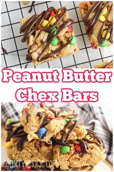 Looking for an An Easy No Bake Dessert Recipe that everyone will love? Then check out these Peanut Butter Chex Bars.