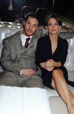 Tom Hardy and Charlotte