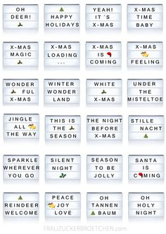 64 Cool X-MAS sayings for your light box! Sugar Roll - 64 Cool X-MAS sayings for your light box! Light Box Quotes Funny, Cinema Light Box Quotes, Light Quotes, Light Up Message Board, Light Board, Light Up Signs, Light Up Letters, Marquee Lights, Xmas Lights