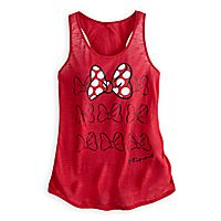 Minnie Mouse Bow Tank Top for Women- Need this tank for Disneyland Trips!