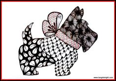 Images > Zentangle Patterns For Beginners Animals