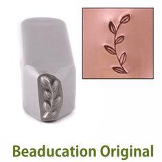 Metal Stamping Tools Garden Branch Border Metal Design Stamp-Beaducation Original