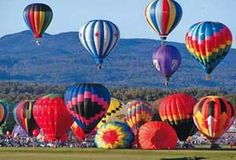 Adirondack Balloon Festival - Glens Falls, NY - my home town - great memories going to this every year