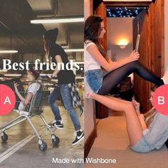 Which is more like u and ur bff Tap to vote http://sms.wishbo.ne/U1ak/cW3oMQZHat