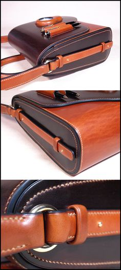 This is a great looking briefcase. I love the molded pockets. The color contrasts are very professional!