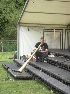 The phenomenal DidgeTallPaul on Ricky Festival Main stage 2013  http://www.didgetallpaul.co.uk/