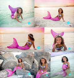 Mermaid portraits photos