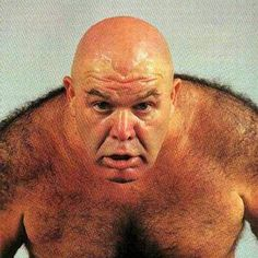Image result for george the animal steele green tongue