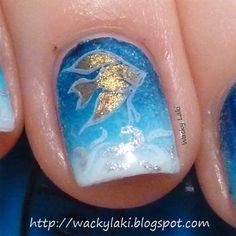 Wacky Laki: Sunday Stamping using Multiple Stamps Over a Gradient