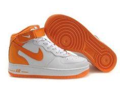{ Nike Air Force 1XOrange } @Xdiamondmeek