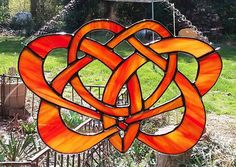 Summer Solstice Stained Glass Knot