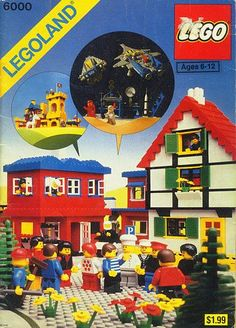 LEGO love Legoland-Ideenbuch 6000 - Ich hatte dieses Buch als Kind. Landscape Design Software, Landscaping Software, Lego Dc, Lego Star, Discount Tools, Classic Lego, Legoland Florida, New Years Eve Dinner, Kids