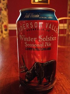 """""""On the ninth day of Christmas we tried the Anderson Valley Winter Solstice, their take on the classic 'winter warmer.'"""" via BARLEY BABES #wintersolstice #beer"""