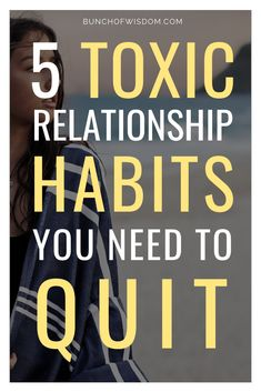 Here are 5 of the most common and not so obvious toxic relationship habits that can kill your relationship and how you can fix them. Self Development, Personal Development, Conditional Love, Best Of Intentions, Dating Relationship, Dating Tips For Women, Toxic Relationships, Jealousy, Self Improvement
