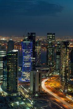 Doha, Qatar Skyline