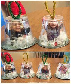 Snow globe ornaments
