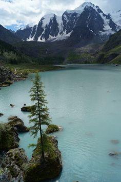 Шавлинское озеро.Горный Алтай