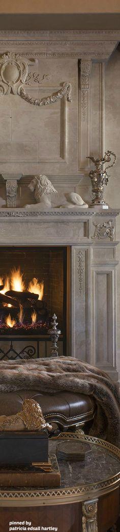 Chateau Fireplace