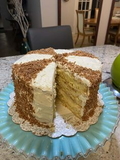 The Best Coconut Cake EVER!! | Cookies and Cups Best Coconut Cake Recipe Ever, Best Cake Recipes, Coconut Recipes, Sweet Recipes, Coconut Cakes, Dessert Recipes, Hawaiian Dream Cake, Lemon Velvet Cake, Coconut Buttercream