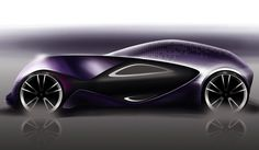 Citroen Egoiste Concept Car by Ian Kettle