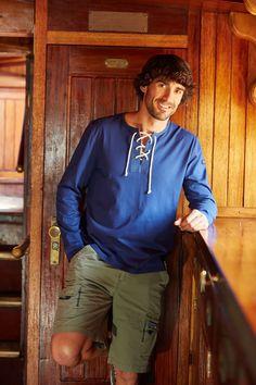 #Tshirt y #short de #Batela de la colección #primavera #verano para #hombre. #navy #nautica #marinestyle