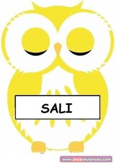 Owl Molded Days of the Week Chart – Preschool Team Forum … – The best ideas Pre School, School Days, Islamic Society, Owl Classroom, School Labels, Preschool Writing, File Folder Games, Christmas Preparation, School Calendar
