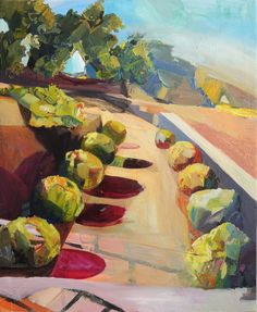 Out of Bounds, Hearst Castle, oil on canvas, Claire Elliott Romanticism, Impressionism, Oil On Canvas, Castle, Claire, Gallery, Artist, Projects, Prints