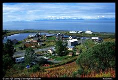 Old Village, Ninilchik, Kenai Peninsula, Alaska - The only place I have ever tromped through knee deep snow to collect sea shells on the shore!!!