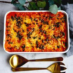 Barnvänlig vegetarisk lasagne - Recept - Tasteline.com