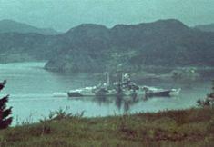 Tirpitz Norway color photo