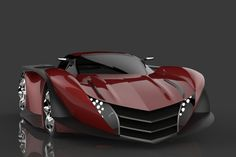 2013 Pagani Thundura Concept by Prashant Choudhary. OMFG...I'd pray to this car if God wouldn't strike me down LOL! I'm hyperventilating it such a BIG want. Love it!