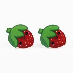 Stawberry Fruit Studs Earrings.