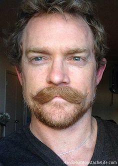 gunslinger casual style thick moustache masculine look bearded men Beard No Mustache, Best Beard Styles, Hair And Beard Styles, Hair Styles, Moustaches, Rogue Hair, Beard Wax, Handlebar Mustache, Everything