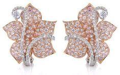 Diamond 18k Two Tone beauty bling jewelry fashion