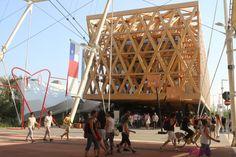 EXPO 2015 Padiglione Cile   www.romyspace.it
