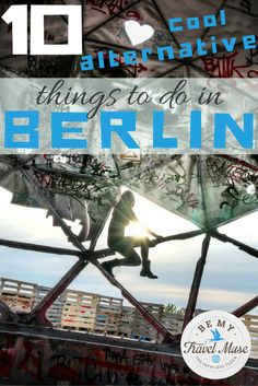 Want to do something a little different when you visit Germany? If you love hidden gems, street art, and getting off the beaten path, check out these 10 alternative things to do when you travel to Berlin. Europe On A Budget, Europe Travel Tips, European Travel, Visit Germany, Germany Travel, Germany Berlin, Berlin Street, Street Art, Stuff To Do