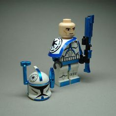 Custom Lego Star Wars Clone Rex  Arc Trooper Commander mini Figure
