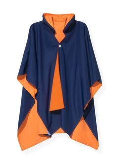 Image result for rain cape with hood